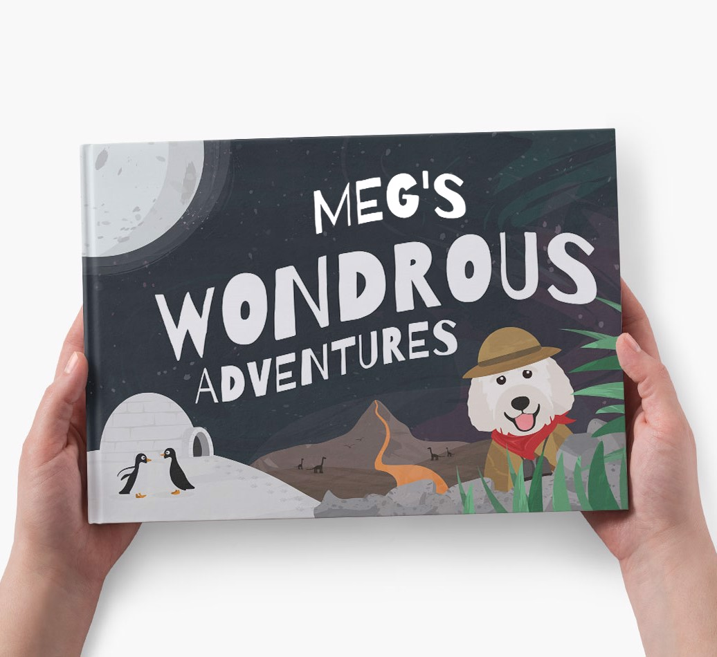 Personalised Story book featuring your dog