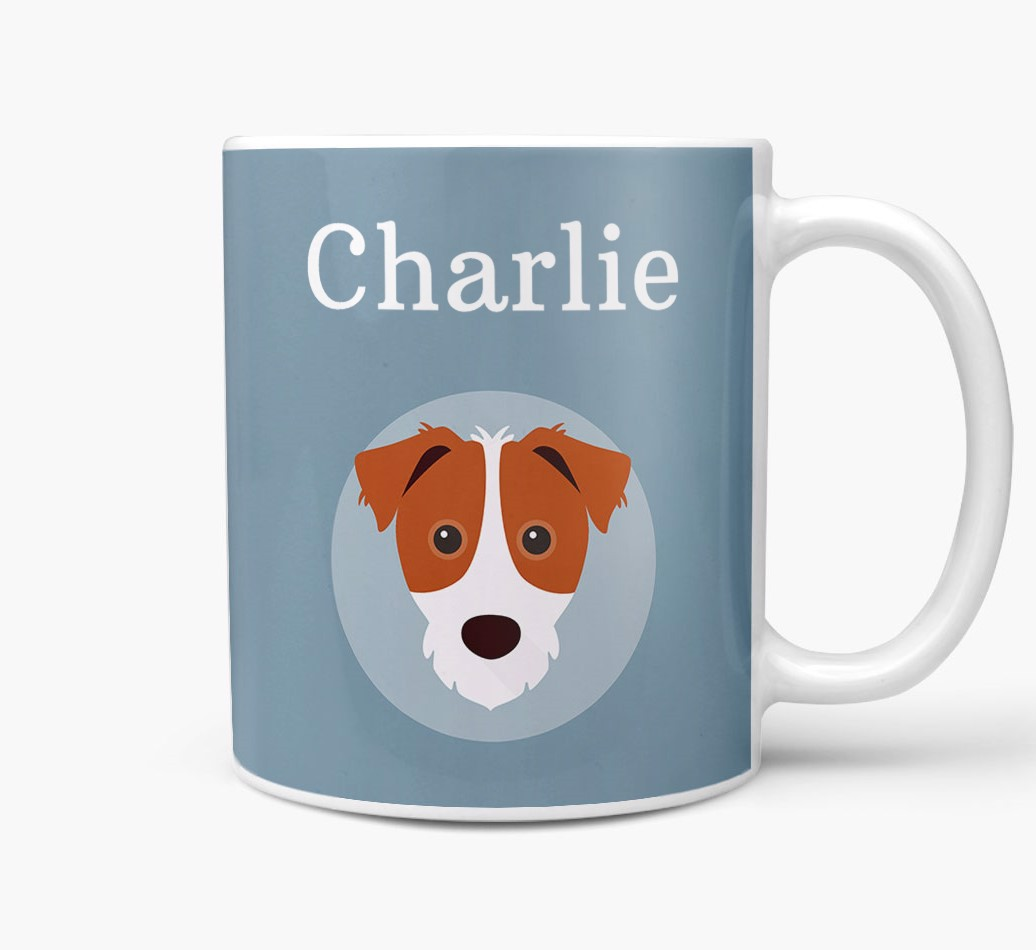 Personlized Dog Featuring your Dogs icon and name