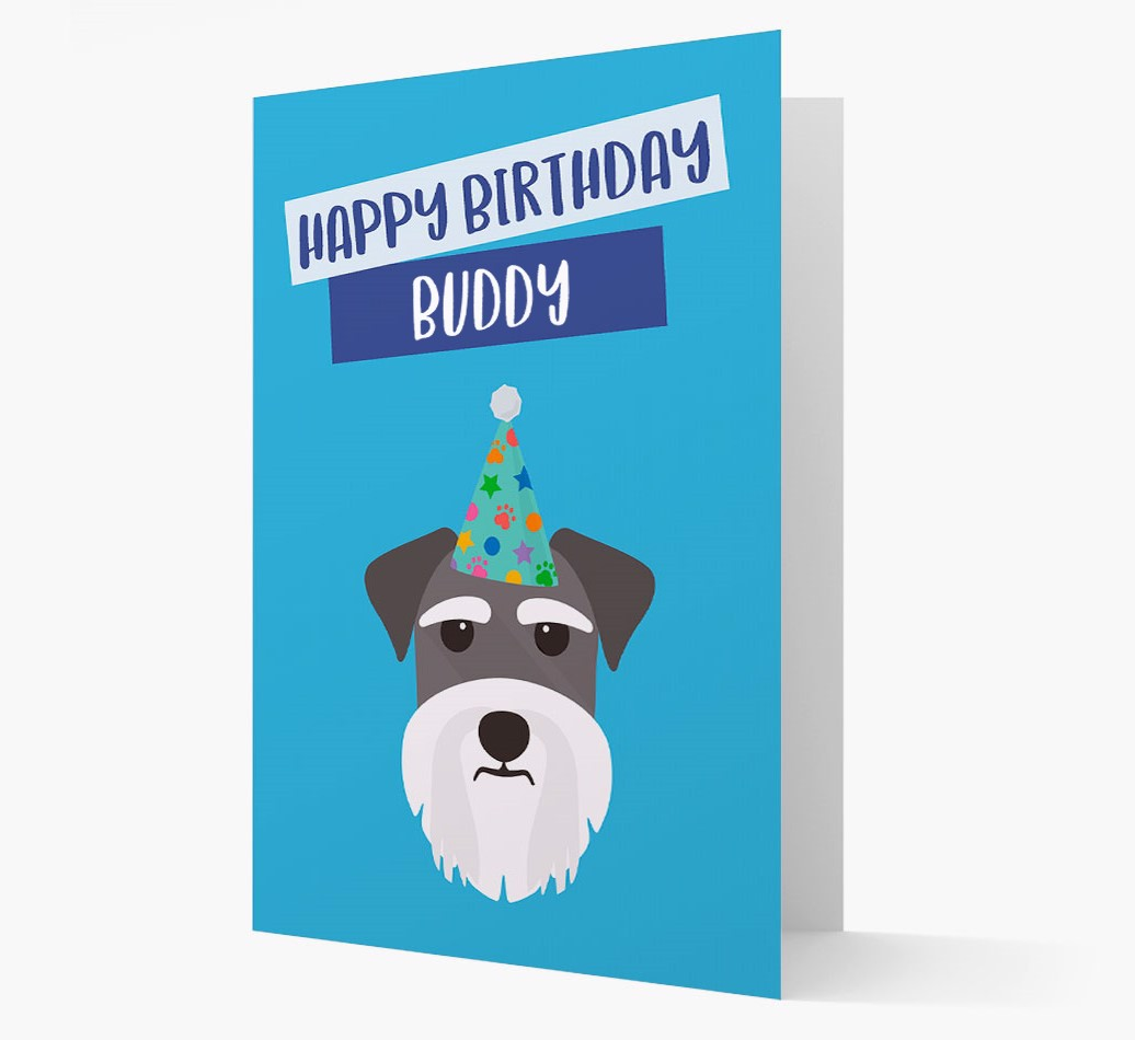 Personlised Birthday card featuring your Dog